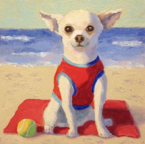 Chi at the Beach