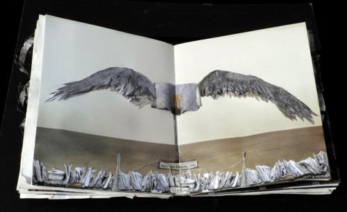 Survivel - Anselm Kiefer's water damaged book