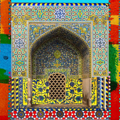 Persian Tiles - Shah's Mosque II