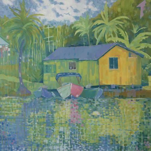 Three Boats, St. Lucia