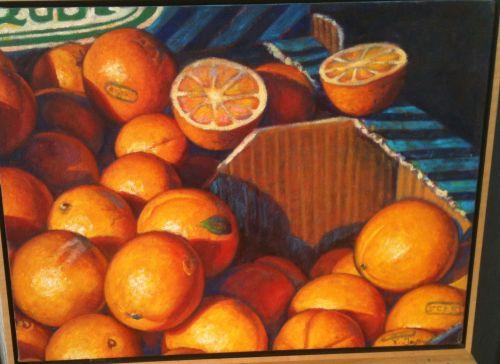 Oranges at St. Jean Market