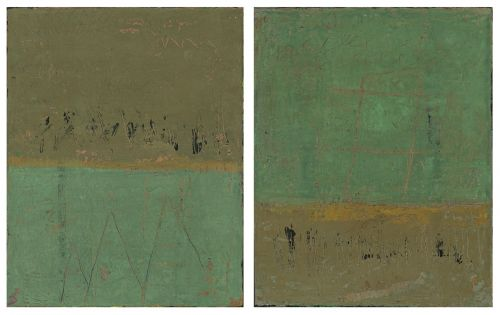 Diptych For Julie