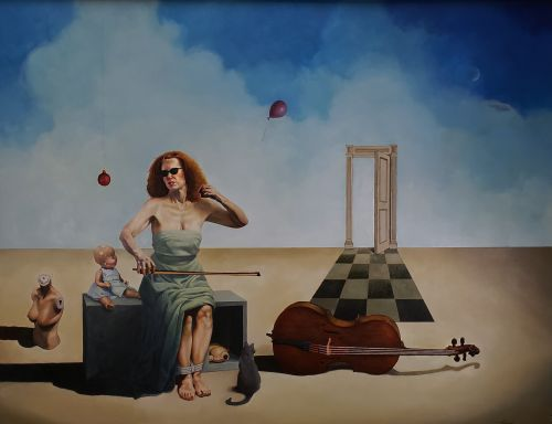 Allegory of A Cello Player