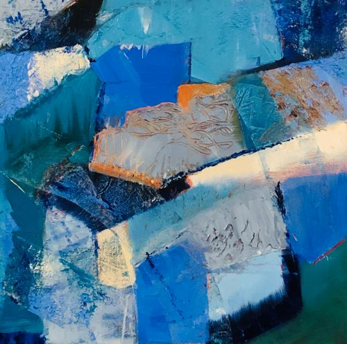 Study in Blue