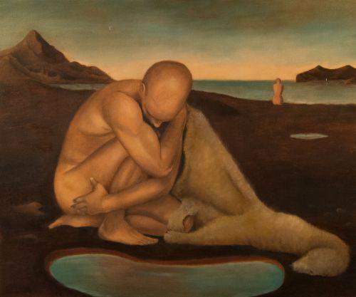 The Vulnerable Human: Crouching Man