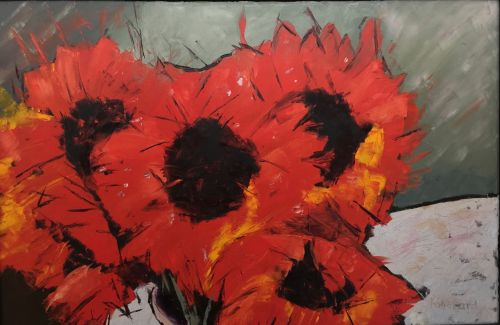 Sunflowers   24 x 36