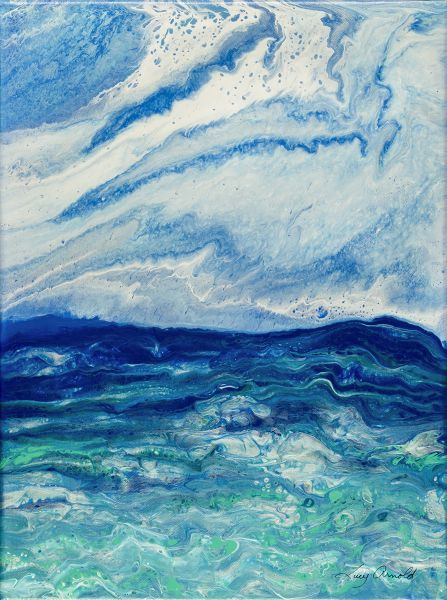 Unsettled Sea and Sky