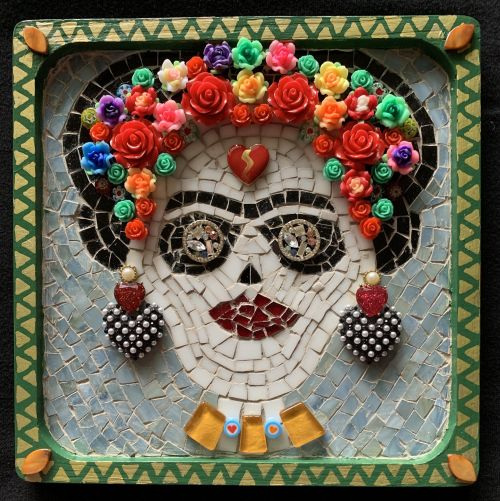 Day of The Dead Collection: Frida (2 of 9 mosaics)