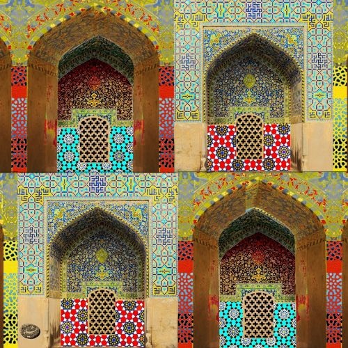 Persian Tiles - Shah's Mosque