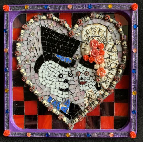 Day of The Dead Collection: Dulce Amor (5 of 12 mosaics)