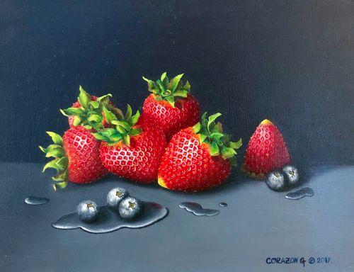 Strawberries & Blueberries #2