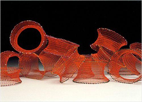 Archival Knit Wire Bracelets