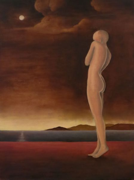 The Vulnerable Human: Standing Woman