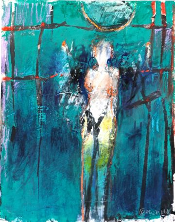 Abstracting the Figure with Soft Pastels & Mixed Media