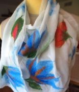 Wet and Nuno Felting: Make Your Own Scarf