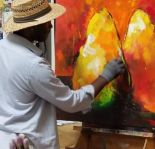 Intuitive Acrylic Abstract Painting Workshop