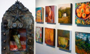 Small Treasures Artists of MarinMOCA Exhibition