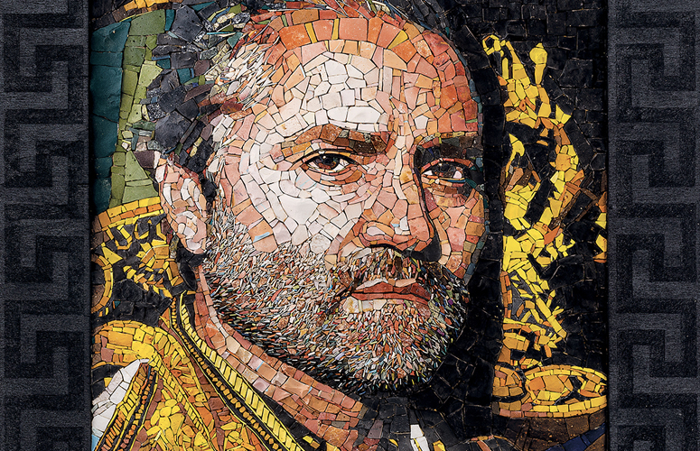 Italian American Icons: Mosaic Portraits