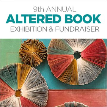 9th Annual Altered Book Exhibit and Fundraiser <br>Presented by Private Ocean